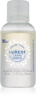 Lumene Lähde [Source of Hydratation] двуфазна мицеларна вода